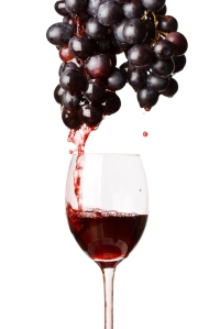 shutterstock_53130070 grapes make wine Mar15