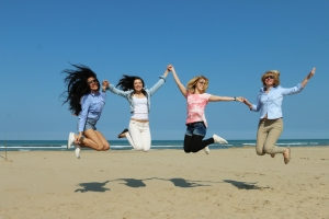 shutterstock_273419525 women jumping in the air May15