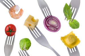 shutterstock_123711391 forks showing balanced diet Nov15