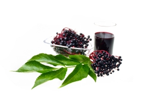 shutterstock_318557849 black elderberries and juice Dec15
