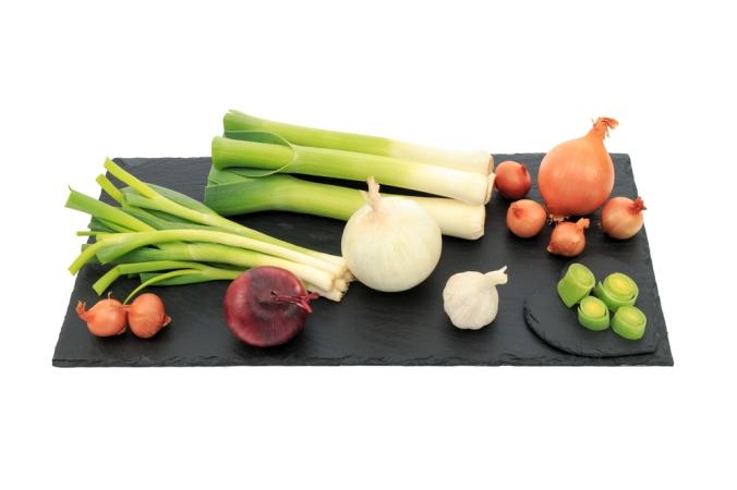 A range of onions