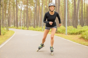 shutterstock_328052888 woman rollerblading June16