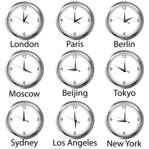 shutterstock_333974420 time zone clocks July16