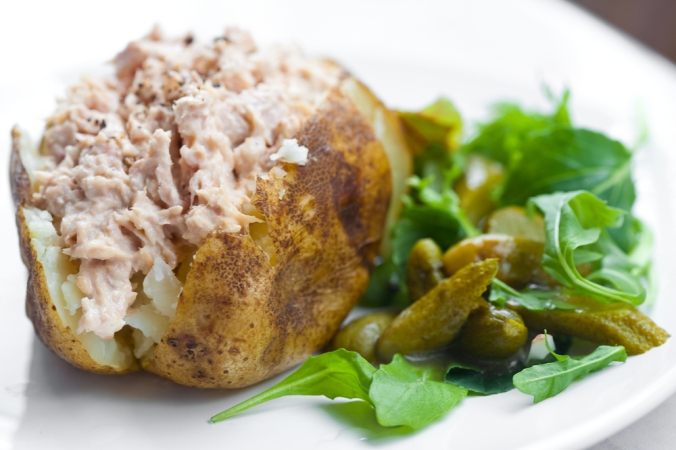 shutterstock_72809221 jacket potato with tuna Sept16