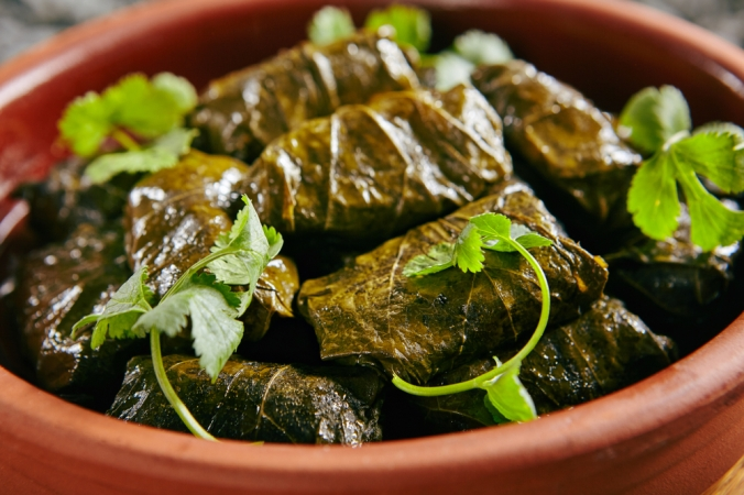 Sufed vine leaves from Greece