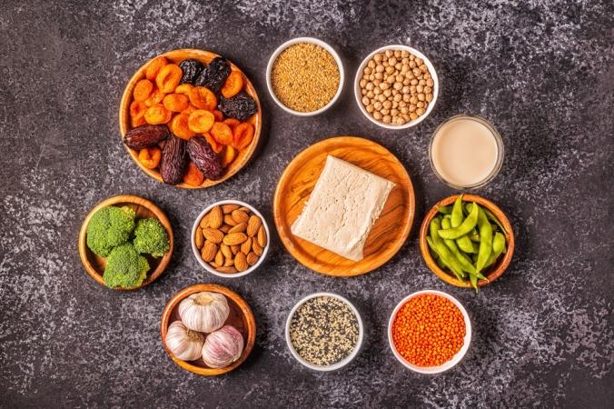 A range of phytoestrogen foods