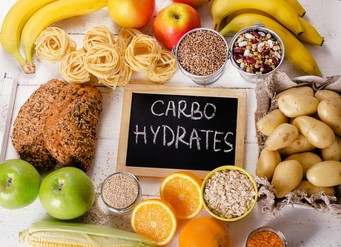 Foods,Highest,In,Carbohydrates.,Healthy,Diet,Eating,Concept.